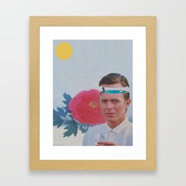 """Mr. Summer"" by Butter And Salmon Framed Art Print"