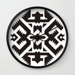 Aztec -//-1 Wall Clock