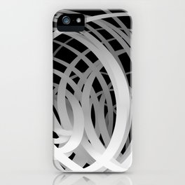 Gradation Loops iPhone Case