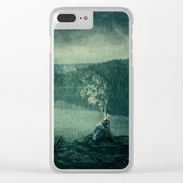 find inspiration Clear iPhone Case