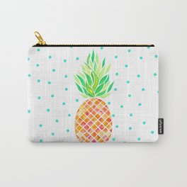 Tangerine Pineapple Carry-All Pouch