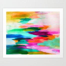 EttaVee Brush Stroke no.67 Art Print