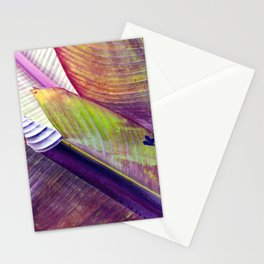 Magic abstract Banana Leaves Stationery Cards