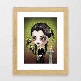Be Afraid Framed Art Print