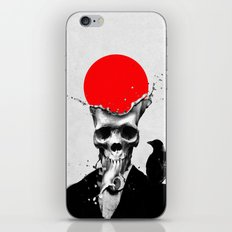 SPLASH SKULL iPhone & iPod Skin