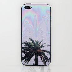 melting palm trees iPhone & iPod Skin