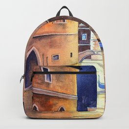 Venice Italy Evening Gondola Ride Backpack