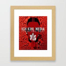 IKM GAS MASK Framed Art Print