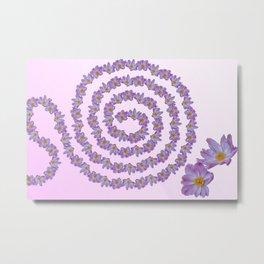 flower for greeting card Metal Print