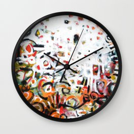 The Places We Go Wall Clock