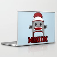 minions Laptop & iPad Skins featuring Misha's Minions by Evie Bird