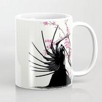 samurai Mugs featuring samurai by tshirtsz