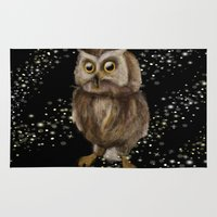 hedwig Area & Throw Rugs featuring My Hedwig by Mathis Designs