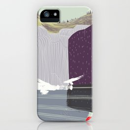 Japan Waterfall iPhone Case
