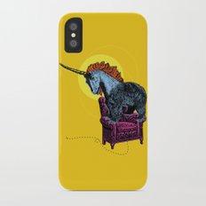 Get off the furniture, Unibear iPhone X Slim Case