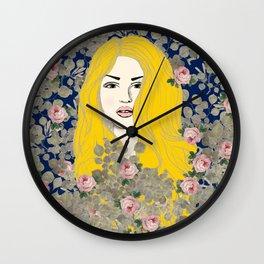 Jene #society6 #decor #buyart Wall Clock