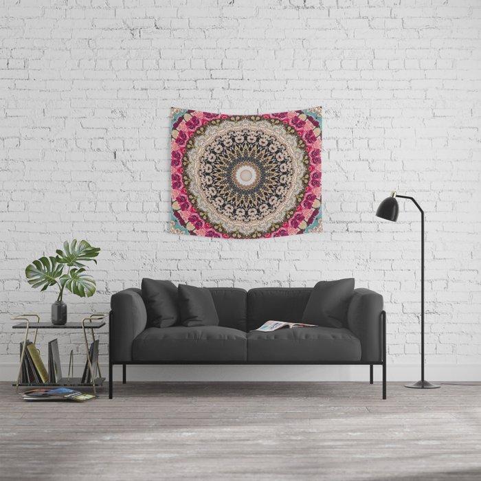 Mandala Hahusheze  Wall Tapestry