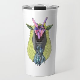 Crystal Earth Mountain Goat Travel Mug
