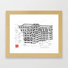 [DCA-1013] The Willard InterContinental Washington Washington, DC Framed Art Print