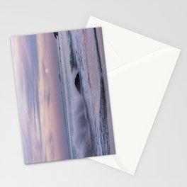 Pastel Ocean Moonrise Stationery Cards