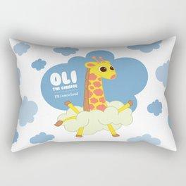 Oli The Giraffe Rectangular Pillow