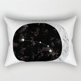 Aries constellation - zodiac - horoscope - starsign Rectangular Pillow