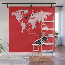 Control The World Wall Mural