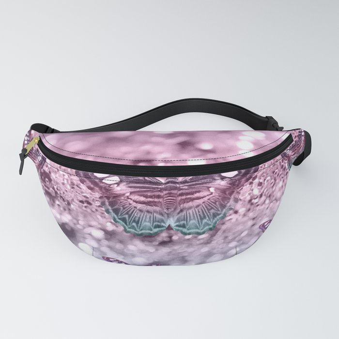 Pastel Unicorn Butterfly Glitter Dream #2 #shiny #decor #art #society6 Fanny Pack