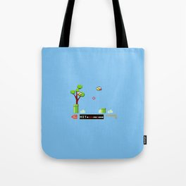Flappy Bird Hunt Tote Bag