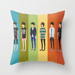 Tegan and Sara: Tegan collection Throw Pillow
