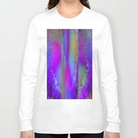 industrial Long Sleeve T-shirts featuring Industrial Wings by Jennifer Warmuth Art And Design