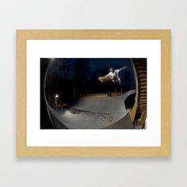Bam Margera - Dusk Transfer Framed Art Print