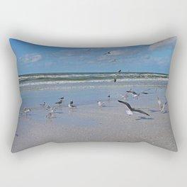 Beach Battilion Rectangular Pillow