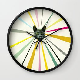 Cat's Eyes Wall Clock