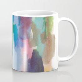 180812 Abstract Watercolour Expressionism 7| Colorful Abstract | Modern Watercolor Art Coffee Mug