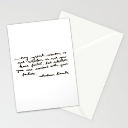 My Great Concern Stationery Cards