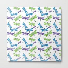 Dragonflies Metal Print