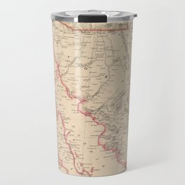 Vintage Map of Baja California (1857) Travel Mug