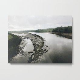 Scottish River Metal Print