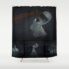 Wastehole001 Shower Curtain