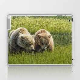 Eating Side by Side Laptop & iPad Skin