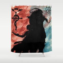 FMA - Fullmetal Alchemist - Edward and Alphonse Shower Curtain