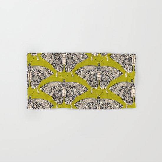 swallowtail butterfly citron basalt Hand & Bath Towel