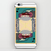 rap iPhone & iPod Skins featuring rap king by Red Monkey