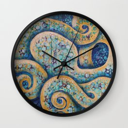The Intuitive Octopus Wall Clock