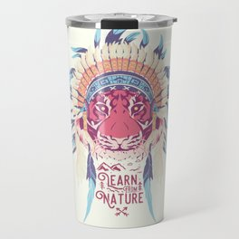 Learn from Nature Travel Mug