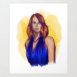 Mia - La La Land Art Print