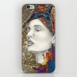the queen of flowers iPhone Skin