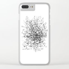 sultry Clear iPhone Case