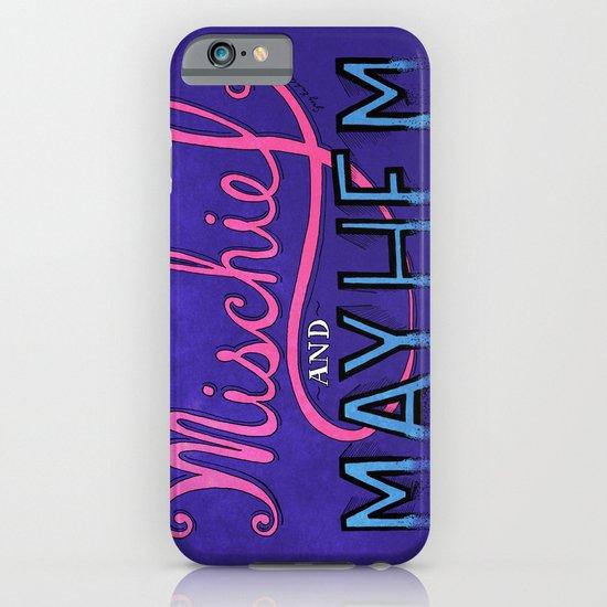 Mischief And Mayhem iPhone & iPod Case